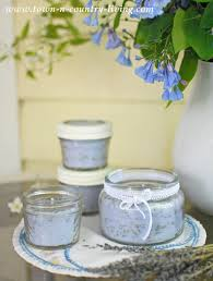 how to make lavender candles town country living
