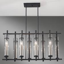 Linear Chandeliers Murray Feiss Ethan Collection Lamps Beautiful