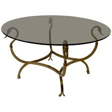 brass swan coffee table italian brass swan cocktail table swans and coffee