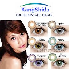 fashion cheap eye contact lenses yellow color contacts yellow