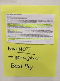 I Have No Resume How Not To Get A Job At Best Buy X Post From R Cringepics