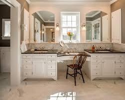 Furniture Style Bathroom Vanity Bathroom Makeup Vanity Set Bathroom Traditional With Make Up