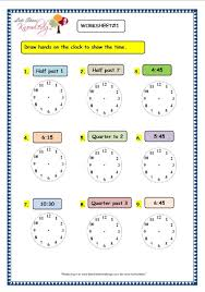 grade 3 maths worksheets 8 2 telling the time in half hour and