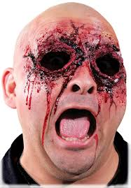 latex for halloween makeup amazon com woochie by cinema secrets see no evil latex appliance