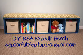 a spoonful of spit up diy expedit bench