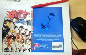 editor komik elex lc on twitter acc cvr baseball ace of diamond