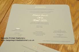 wedding invitations edmonton foiled wedding stationery