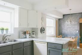 backsplash in kitchen pictures remodelaholic diy budget friendly white kitchen renovation with