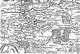 Stirling Scotland Map Genuki Clackmannanshire Clackmannanshire