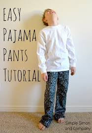 pattern pajama pants make pajama pants from jeans simple simon and company