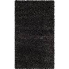 Safavieh Leather Shag Rug Safavieh Leather Shag Grey 3 Ft X 5 Ft Area Rug Lsg511n 3 The
