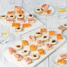 food canapes tesco canape selection tesco groceries