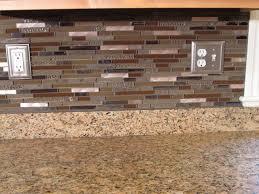 copper backsplash tiles for kitchen beautiful glass and copper backsplash mediterranean kitchen