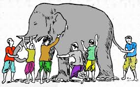 Poem The Blind Man And The Elephant Elephant Blind Men And The Poem Illustrated Pictures To Pin On