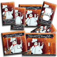 Kitchen Fat Chef Decor Fat Chef Kitchen Decor Ebay
