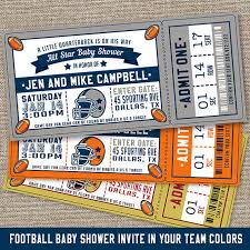 football baby shower football baby shower invitations football baby shower