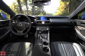 2016 lexus rc f review 2015 lexus rc f interior 008 the truth about cars