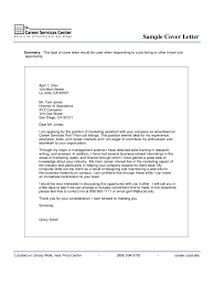 marketing cover letters