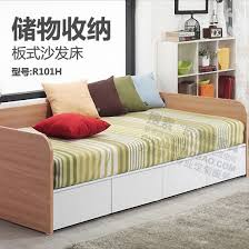 Sofa Bed With Storage Drawer And South Korea Minimalist Modern Bed Storage Drawer Plate Twin