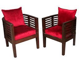 Comfortable Living Room Chairs In Teak Wood - Comfortable living room chairs