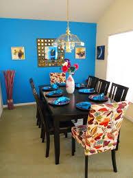 Brown Dining Blue Room Dining Room Lavish Bright Dining Room Using Dark Brown Dining
