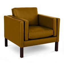 Camel Leather Chair Børge Mogensen 2331 Chair Aniline Leather