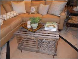 Lobster Trap Coffee Table by About Potting Table For Decoration Home Furniture And Decor