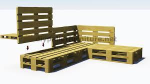 canap fait avec des palettes interessant canape fait avec des palettes et plans 3d