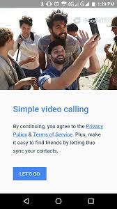Video Call dengan Aplikasi Google Duo di LUNA G Cepat Tanpa Lag