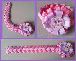 hair bow ribbon my pony hair bow ribbon bun wrap a7 you choose image and
