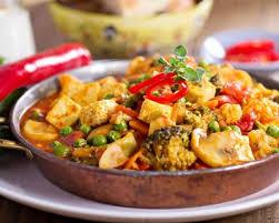 recettes cuisine rapide recette curry végétarien au tofu et aux légumes facile rapide