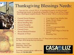 thanksgiving blessing mix thanksgivingback campaign collecting food donations casa de luz