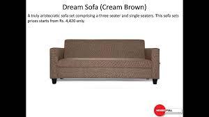 Sofa Set Buy Online India Buy Fabric Sofa Set Online In India At Housefull International Ltd