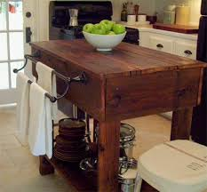 reclaimed kitchen island home dzine home diy rustic kitchen island with reclaimed timber