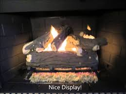 gas log installation by swede chimney sweep youtube