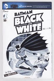 batman black and white the sketch covers
