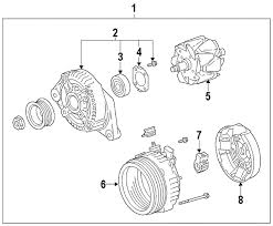 alternator for toyota camry 2007 parts com toyota reman alternator partnumber 270602832184