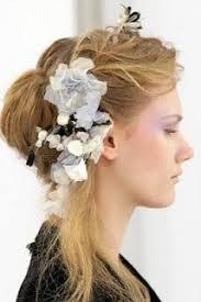 stunning hair corsage with mini veil by lovehair www lovehair co