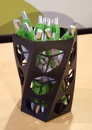 design and 3d print a custom pen holder goengineer