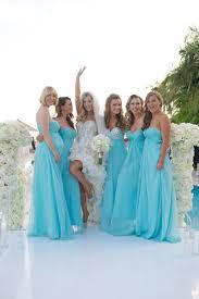 brides bridesmaids photos aquamarine bridesmaid dresses - Aquamarine Bridesmaid Dresses