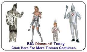 Tin Man Costume Tin Man Costume Wizard Of Oz Costumes Sales U0026 Discounts