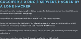 on the need for official attribution of russia u0027s dnc hack lawfare
