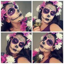 halloween look la catrina dia de los muertos sugar skull youtube