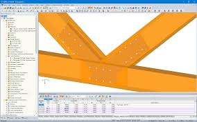 structural steel and timber connections dlubal software