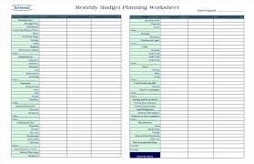 Monthly Spreadsheet Budget Planner Budget Planner Template Ideas On Pinterest Free