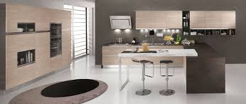 technologie cuisine cuisine technologique avec finitions tranché en aluminium design