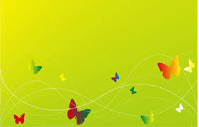 elegant green bg with butterfly free ppt backgrounds for your