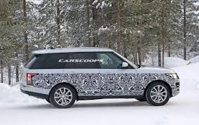 matte range rover 2017 2017 range rover spied getting ready for its first facelift