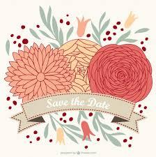 wedding flowers vector istock floral border bouquet rustic hand