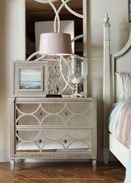 furniture charming mirrored chest for home furniture ideas mtyp org 3 drawers mirrored chest plus table lamp and white bed for bedroom decoration ideas